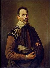 Portrait of Renaissance composer Claudio Montiverdi in Venice, 1640, by Domenico Fetti