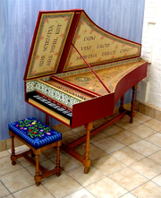 Clavecin_flamand (The harpsichord) played a central role in a great deal of Baroque music