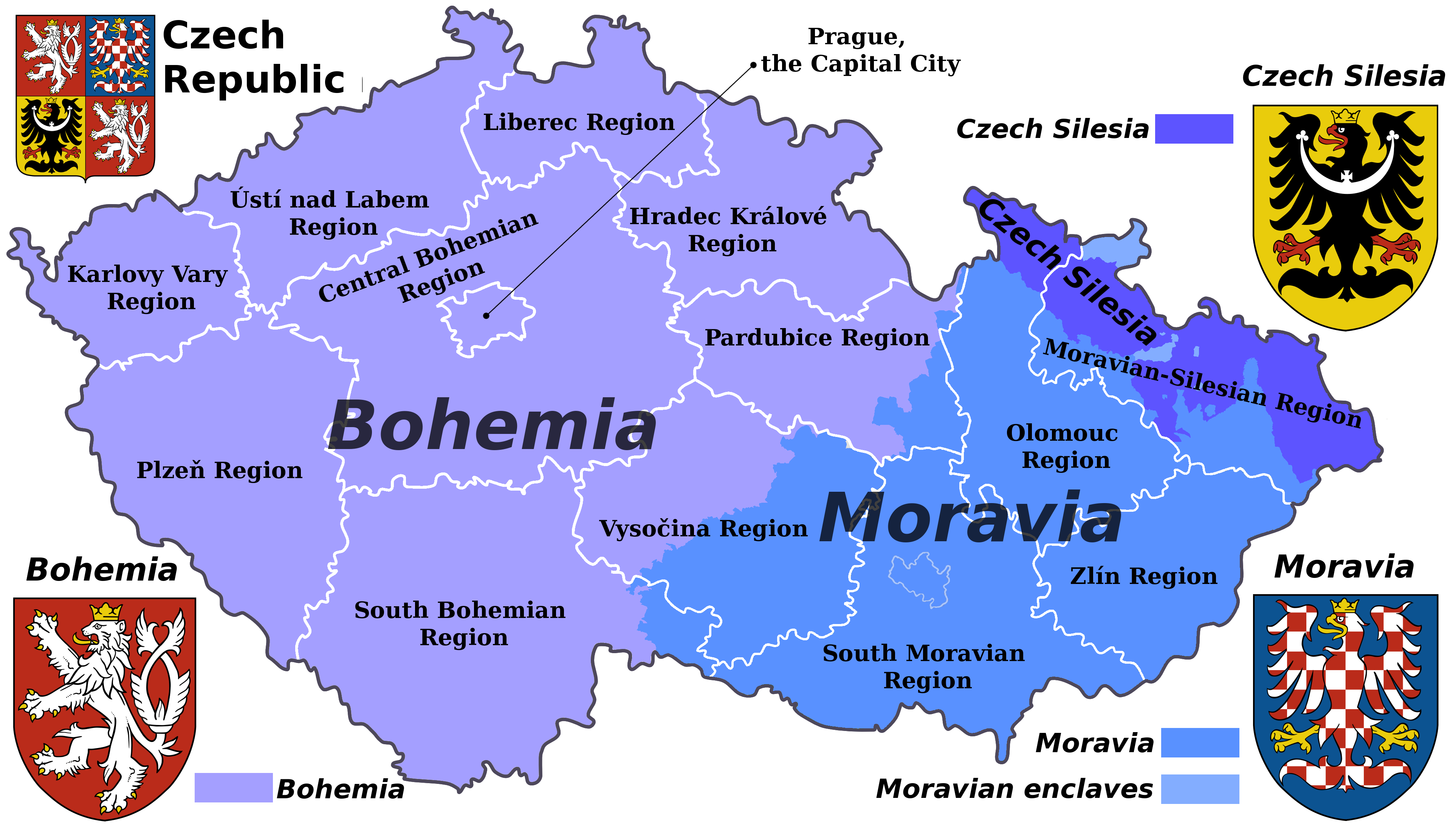 traditional regions and current administrative regions