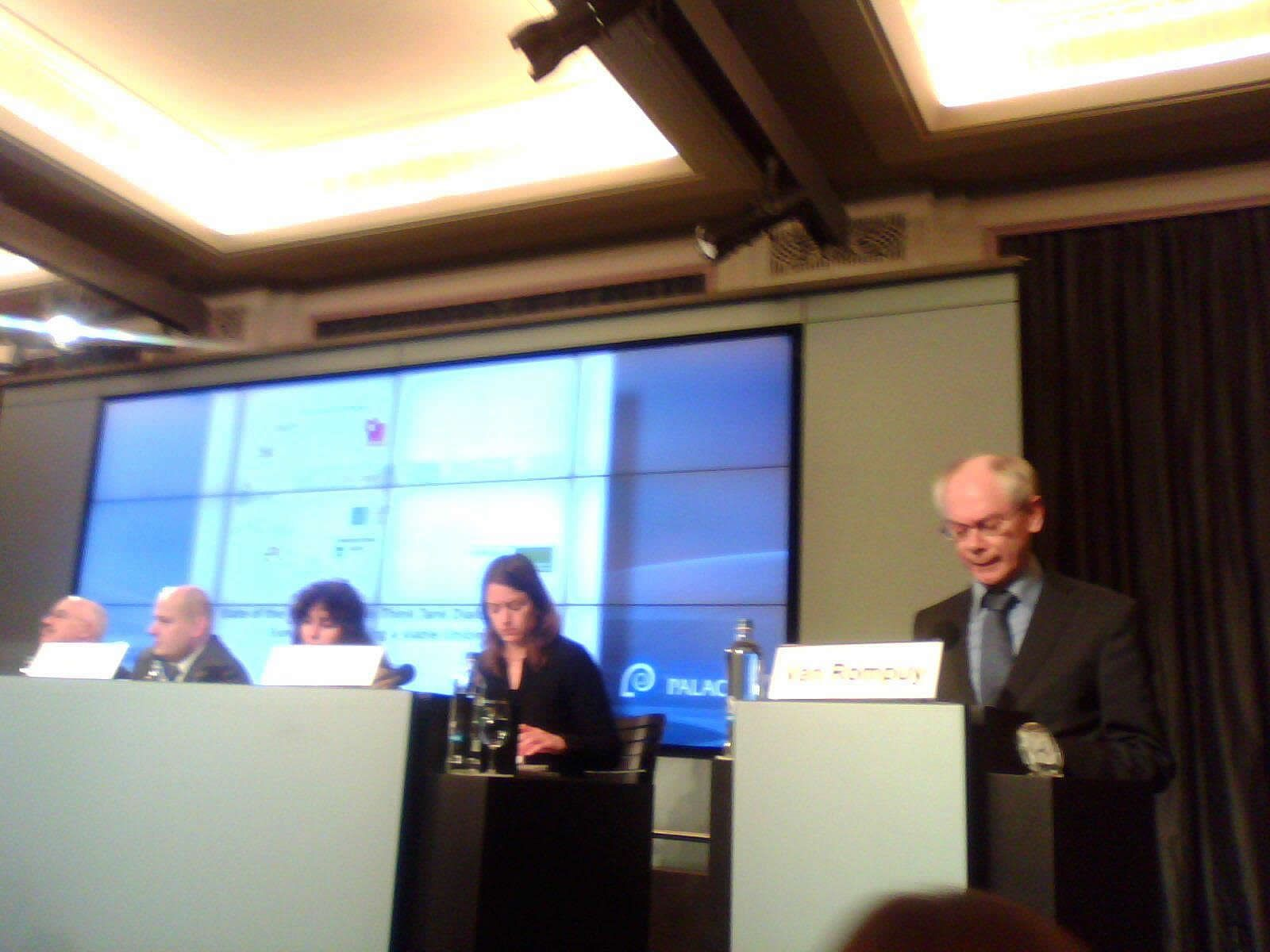 Building a viable Union. Herman Van Rompuy: Directio comes before speed