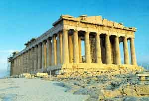 Culture is the temple the Parthenon 5th century BC