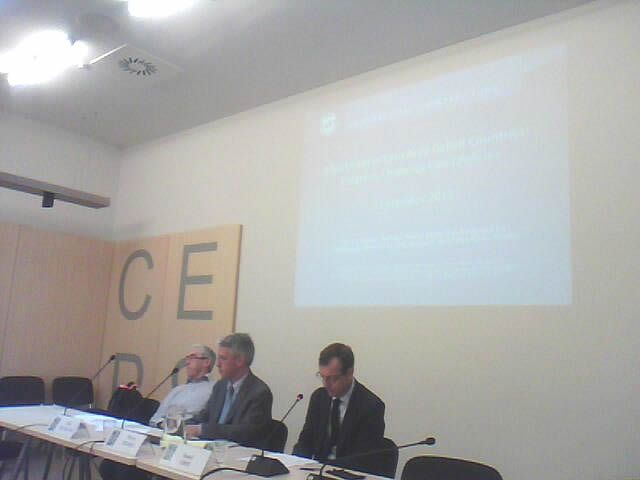 26-09-2014: Adjustment in Euro Area deficit countries: progress, challenges and policies. IMF and CEPS meeting