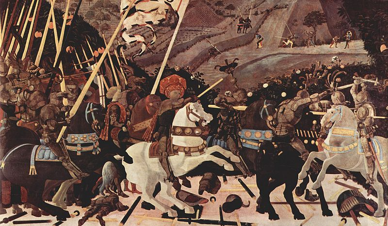 The Battle at San Romano, Paolo Uccello
